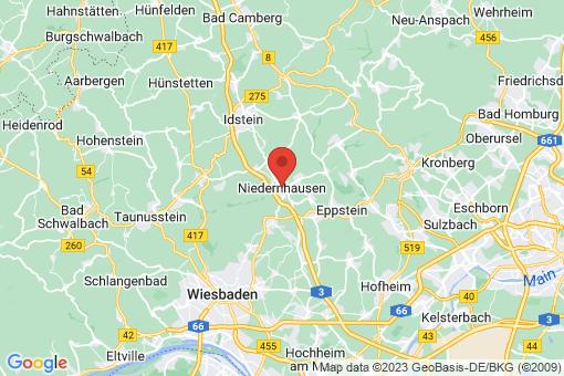Karte Niedernhausen