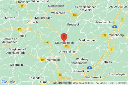 Karte Stadtsteinach