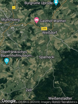 Google Map of Sparneck