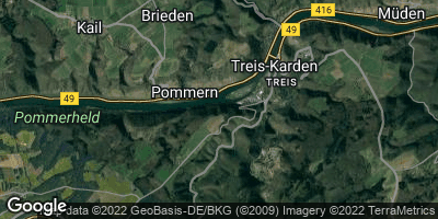 Google Map of Pommern