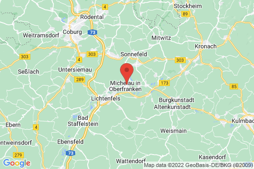 Karte Michelau in Oberfranken