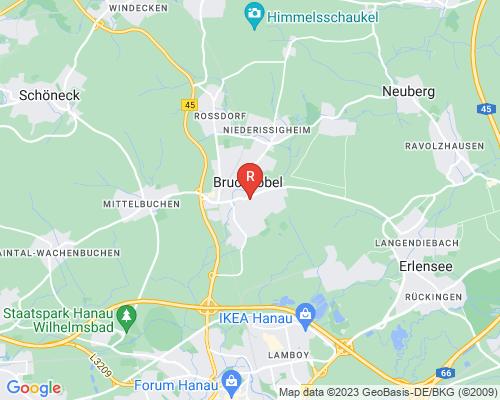 Google Karte von Rohrreinigung Bruchköbel