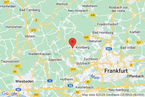 Karte Königstein im Taunus