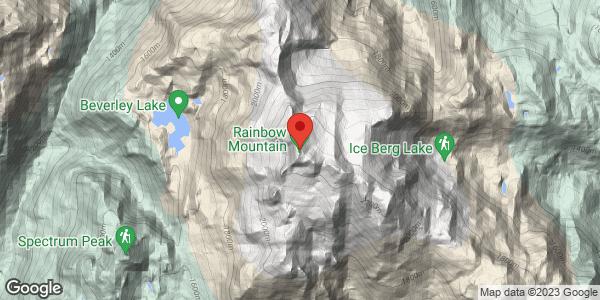Rainbow mountain-Gin peak