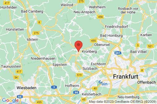 Karte Königstein im Taunus Falkenstein