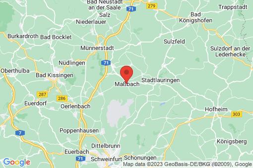 Karte Maßbach