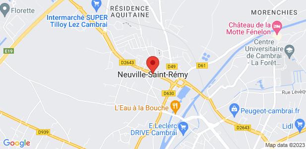 Entrepôt à louer - Neuville-Saint-Rémy (59)