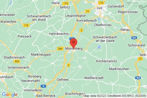 Karte Münchberg