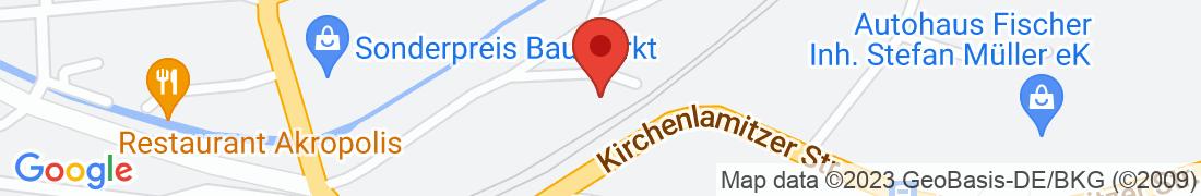 BayWa Baustoffe Muenchberg Anfahrt