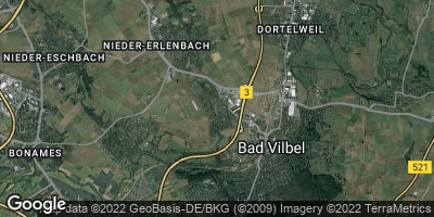 Google Map of Massenheim bei Bad Vilbel