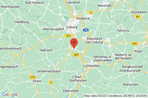 Karte Untersiemau