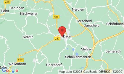 Arbeitsort: Daun, Gefell, Steinberg, Pelm, Wallenborn, Neroth, Dockweiler, Hörscheid