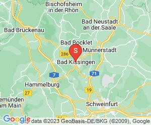 Karte für Spielbank Bad Kissingen