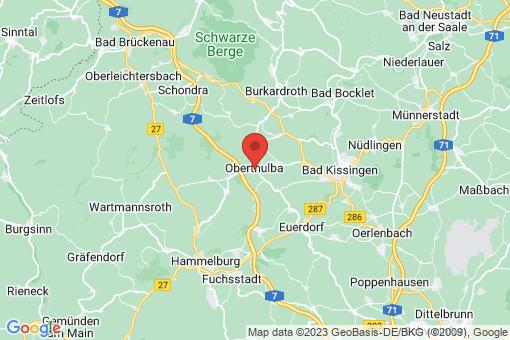 Karte Oberthulba