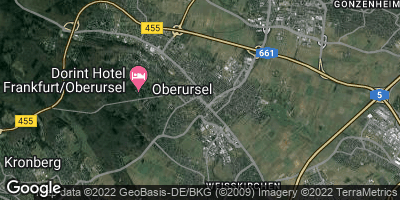 Google Map of Oberursel