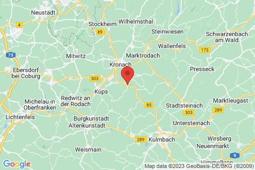Karte Weißenbrunn