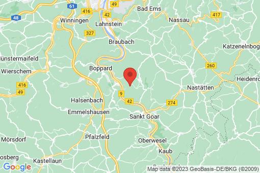 Karte Lykershausen