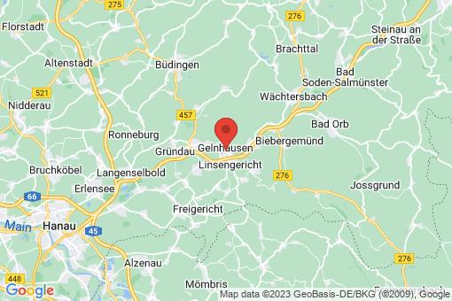 Karte Gelnhausen
