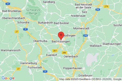 Karte Bad Kissingen