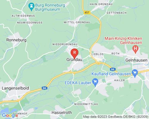 Google Karte von Rohrreinigung Gründau