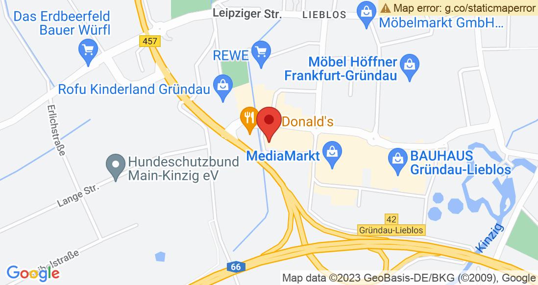 Google Map Sporthaus Robert Hübner GmbH