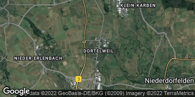 Google Map of Dortelweil