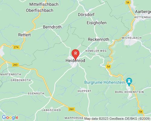 Google Karte von Rohrreinigung Heidenrod