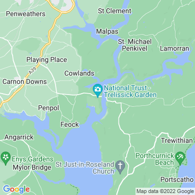 Trelissick Location