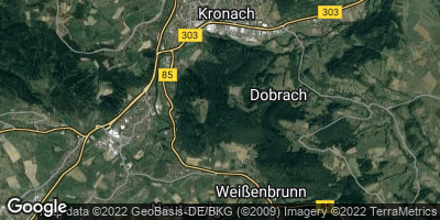 Google Map of Mostrach