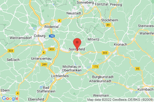 Karte Sonnefeld