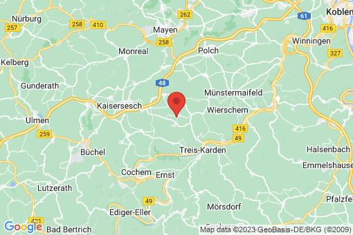 Karte Forst (Eifel)