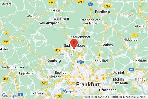 Karte Bad Homburg vor der Höhe