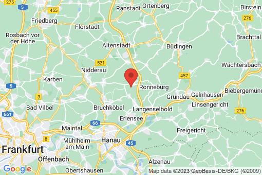 Karte Hammersbach