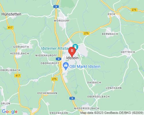 Google Karte von Rohrreinigung Idstein