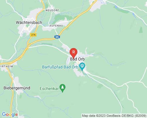 Google Karte von Rohrreinigung Bad Orb