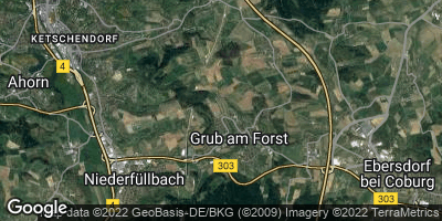 Google Map of Grub am Forst