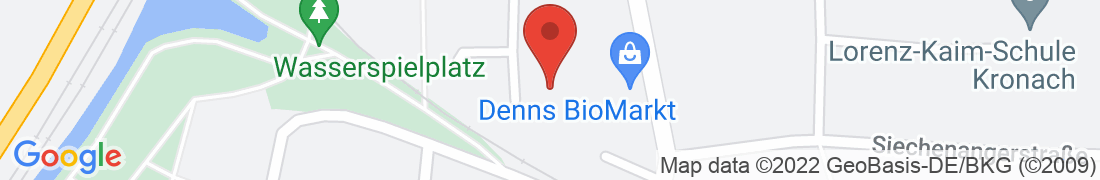 BayWa AG Kronach Anfahrt