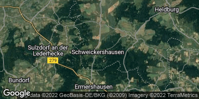 Google Map of Schweickershausen