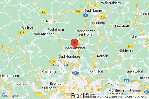 Karte Friedrichsdorf