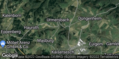 Google Map of Urmersbach