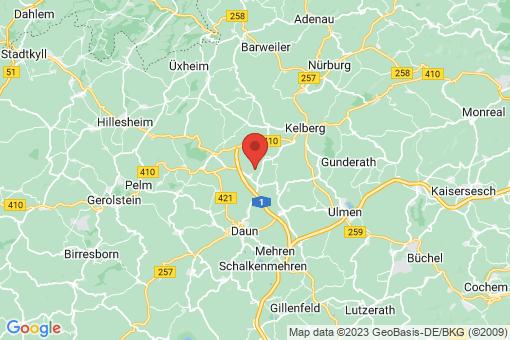 Karte Kradenbach