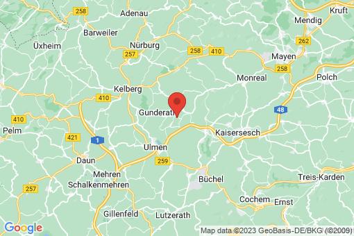 Karte Uersfeld