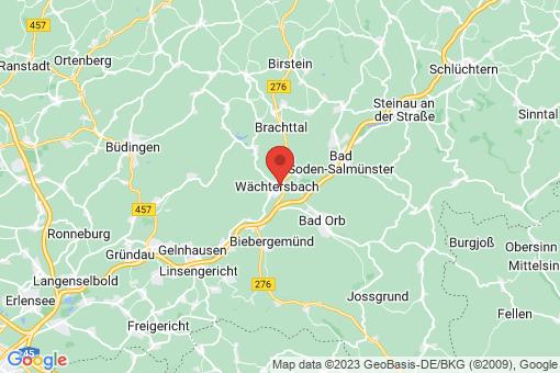 Karte Wächtersbach