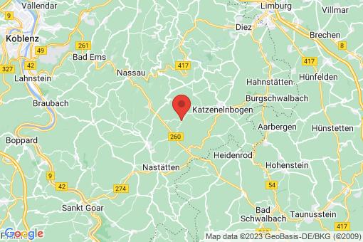 Karte Niedertiefenbach