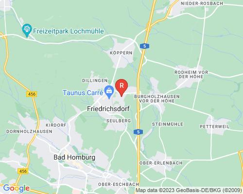 Google Karte von Rohrreinigung Friedrichsdorf