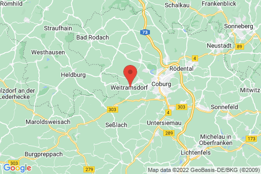 Karte Weitramsdorf