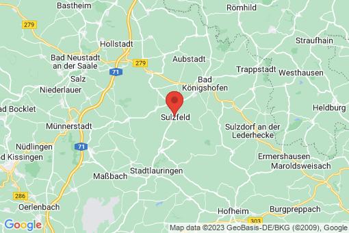 Karte Sulzfeld