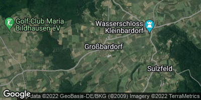 Google Map of Großbardorf