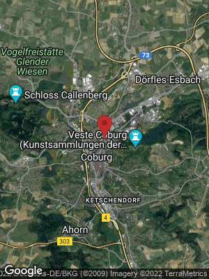 Google Map of Coburg