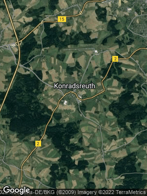 Google Map of Konradsreuth